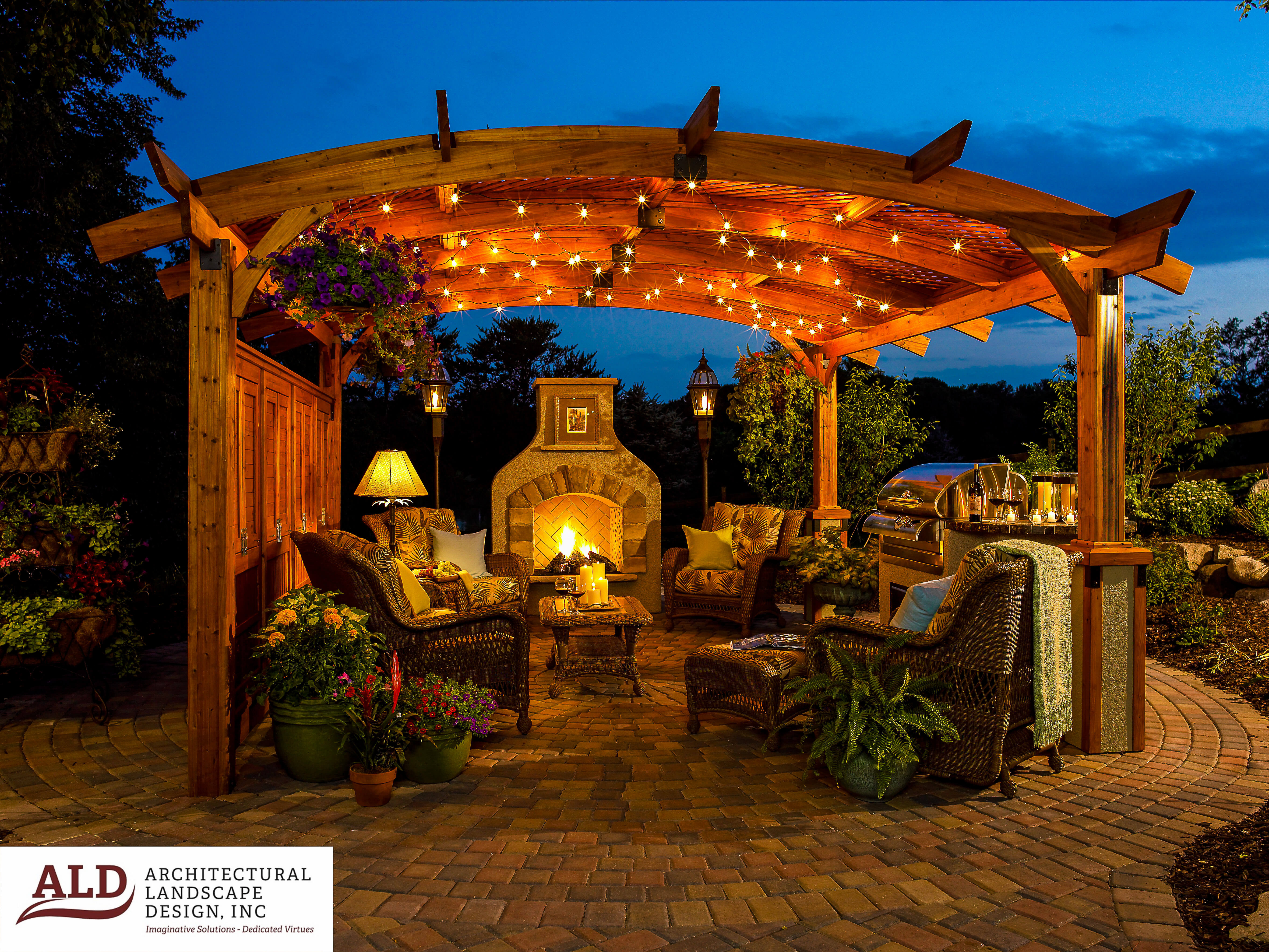 Professional Lighting Ideas To Create The Perfect Mood In Your Yard Architectural Landscape Design