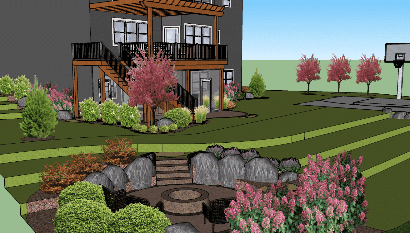 Virtual Backyard Design Classy Landscaping Software