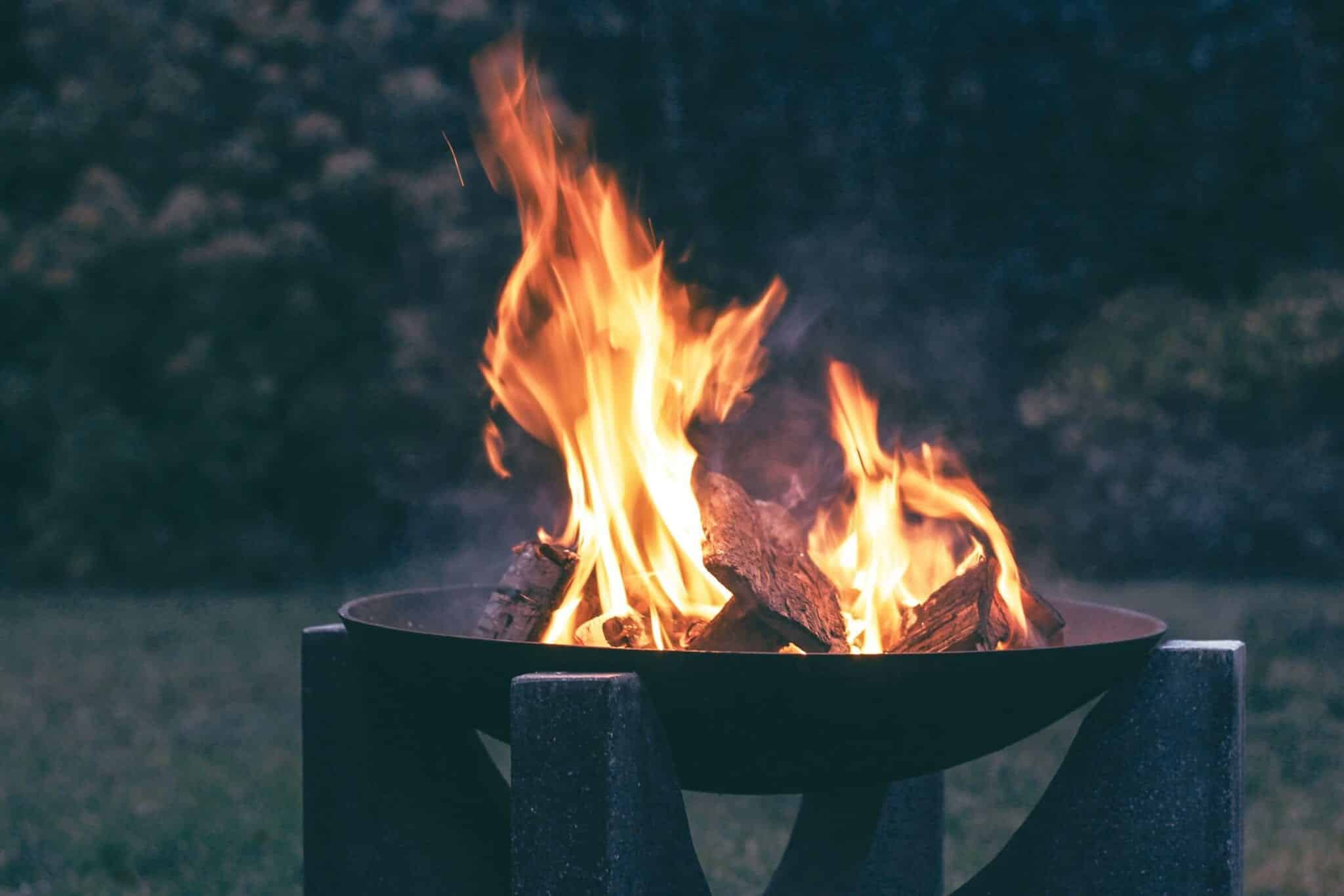 Cleaning Fire Pit