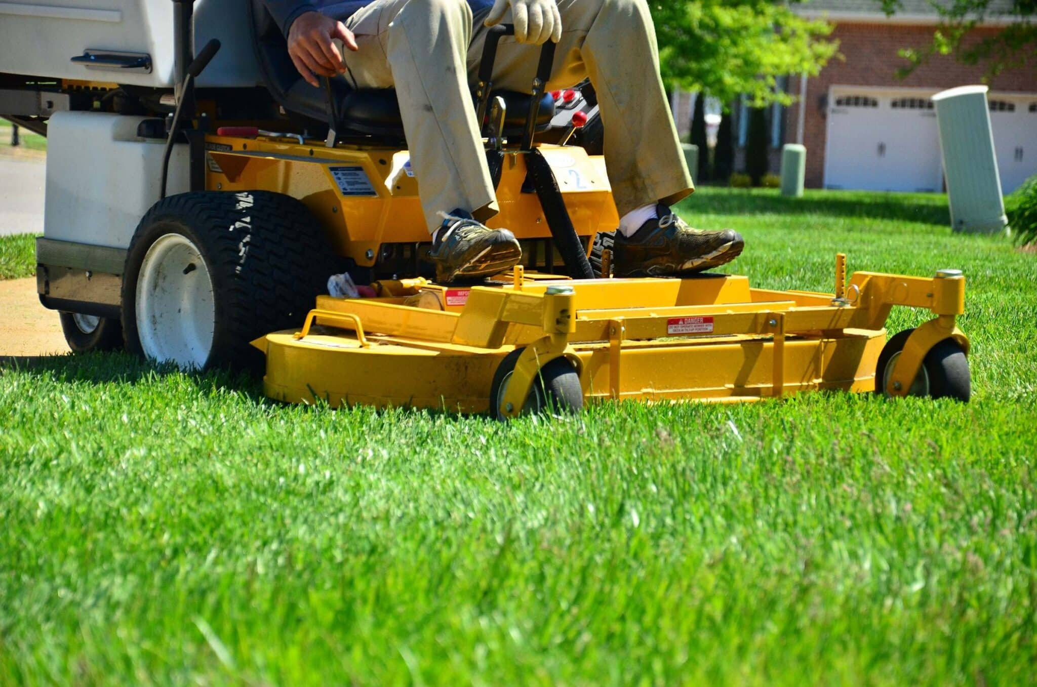 Monthly Lawn Care Calendar