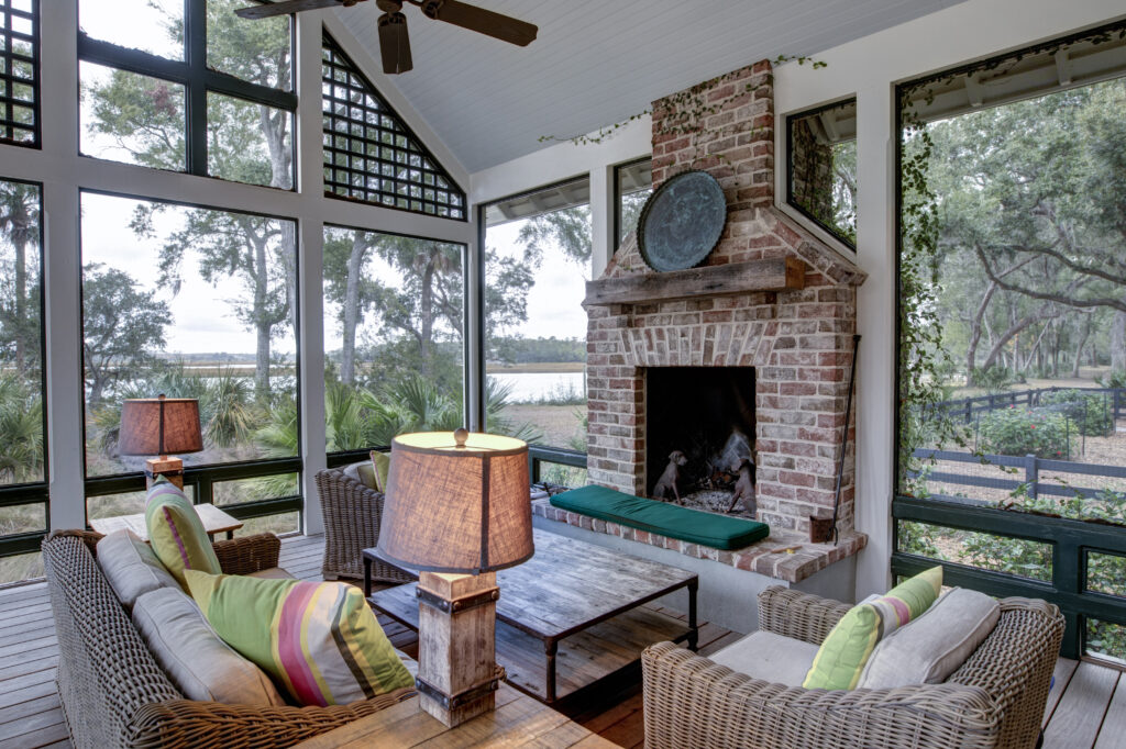 Modern Screen Porches Are Popular Home Additions